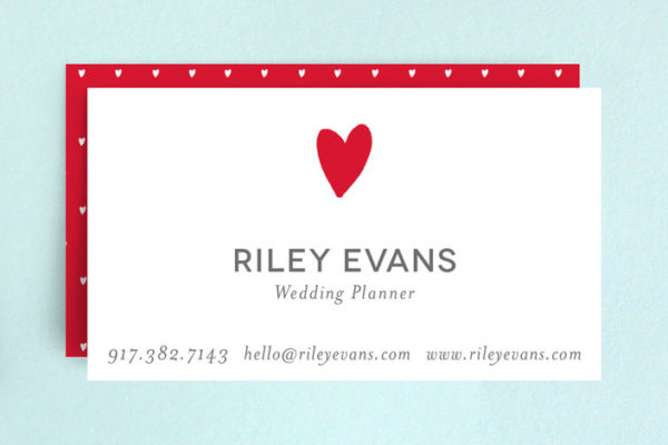 Have a Heart Business Cards