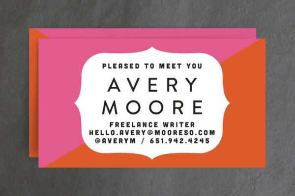 Pleased as Punch Business Cards