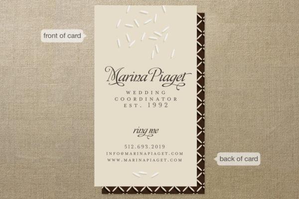Wedding Coordinator Business Cards