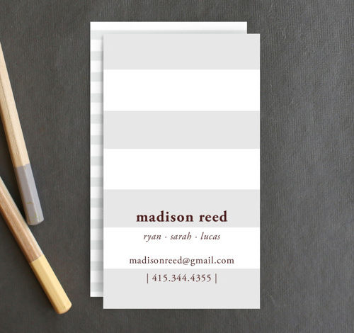 Real Simple Business Cards
