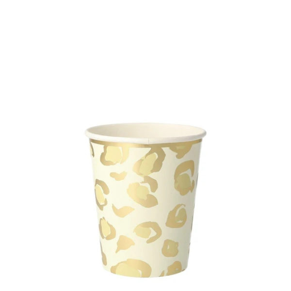 Safari Animal Print Party Cups