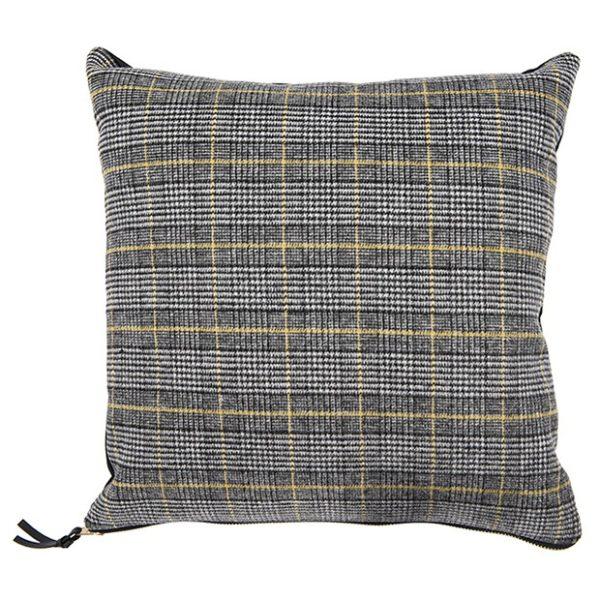 Classic Plaid Accent Pillow
