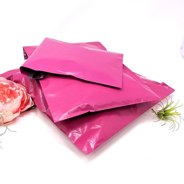Hot Pink Polymailers