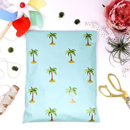 Palm Tree Poly mailers