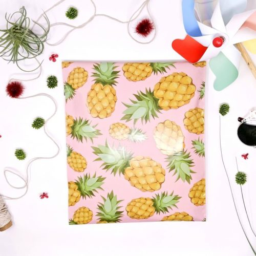 Pineapple polymailers