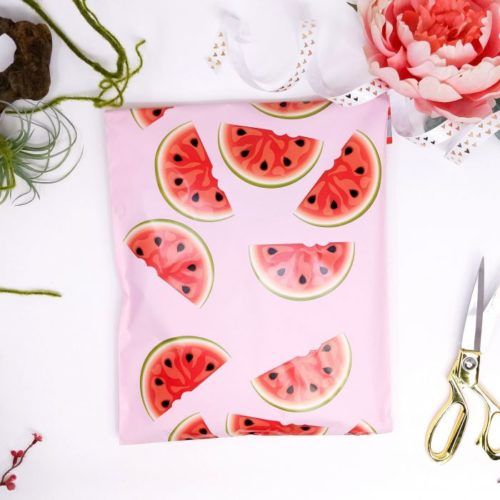 watermelon polymailers