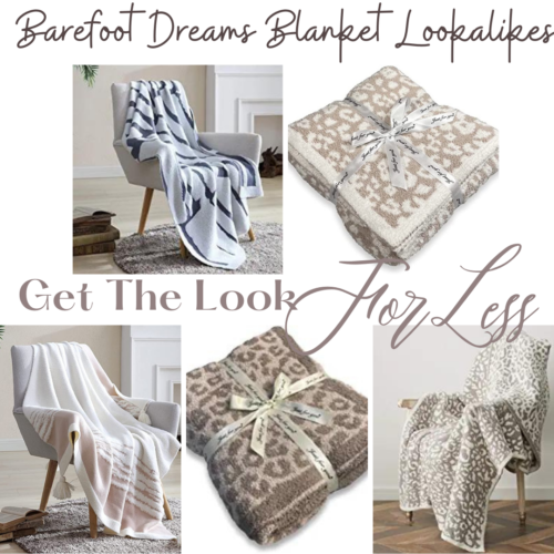 Barefoot Dreams Blankets Designer Dupes and Lookalikes for Less